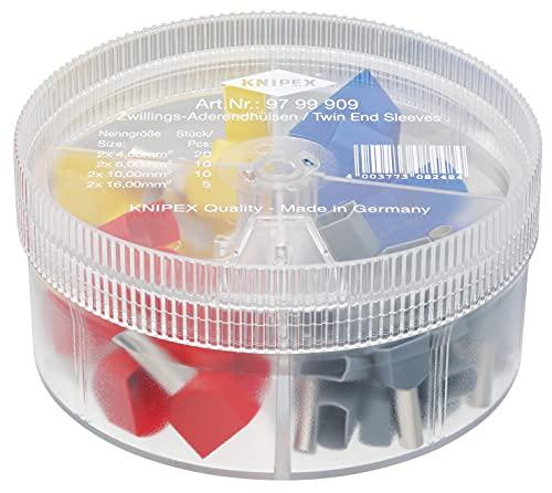KNIPEX Cajas de surtidos con punteras huecas Twin 97 99 909