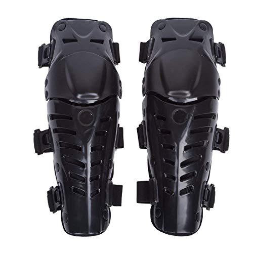 WILDKEN Adultos Rodilleras Moto Enduro Espinillera Motocross Protección de Rodilla Corporal Protector Rodilla Motocicleta Bicicleta para Protector Caballero al Aire Libre ( Negro Fresco )
