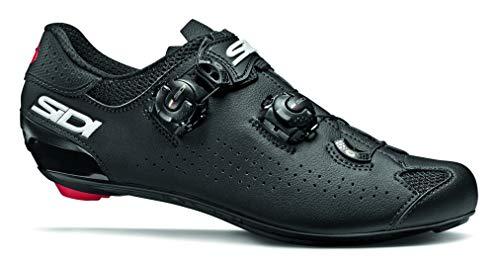 SIDI Shoes Genius 10, Scape Ciclismo Hombre, Negro Negro, 45*