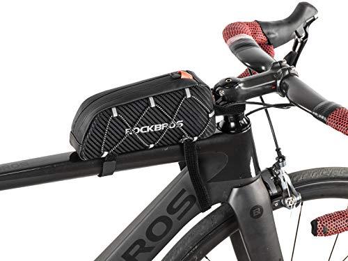 ROCKBROS Bolsa Cuadro de Bicicleta Tubo Superior 1L para Teléfono Móvil iPhone X XS MAX XR 7 8...*