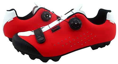 LUCK Zapatilla de Ciclismo MTB ÍCARO con Suela de Carbono y Sistema rotativo de precisión...*