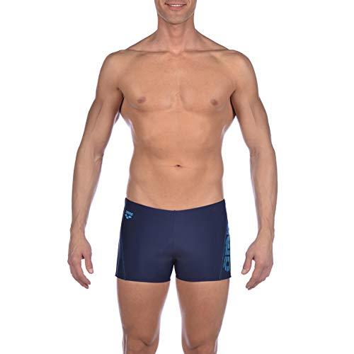 Arena M Short Bañador Corto Hombre Byor EVO, Navy-Turquoise, 75