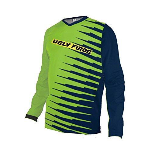 UGLY FROG MTB Jersey De Descenso Bicicleta Motocross Long Sleeve Downhill Mountain Biking Maillots*
