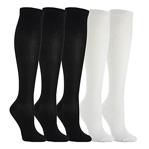 WEEKEND PENINSULA 5 Pares Calcetines/ Medias de Compresión para Hombres y Mujeres, Running,...*