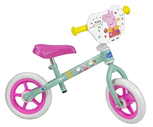 Pik&Roll- Peppa Pig Bicicleta, Color Green, 10 (TOIMSA 198)*