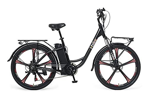 i-Bike City ePlus ITA99 - Bicicleta eléctrica de pedaleo asistido, Unisex, para Adultos, Color...*