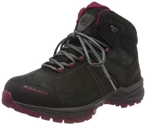 Mammut Nova III Mid GTX, Zapatos de High Rise Senderismo Mujer, Negro (Black-Dark Sundown 00462), 40 EU