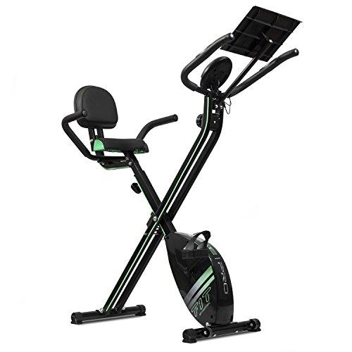Cecotec Bicicleta Estática Plegable con Volante de Inercia de 2,5 Kg X-Bike Pro. Sistema Silence...*