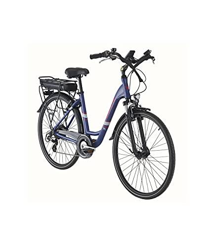 Grupo K-2 Wonduu Bicicleta Eléctrica Wayscral Everyway E200 28' Azul.Motor de 250 W.Batería de Litio 36 V 13 Ah.Shimano Altus de 7 velocidades.