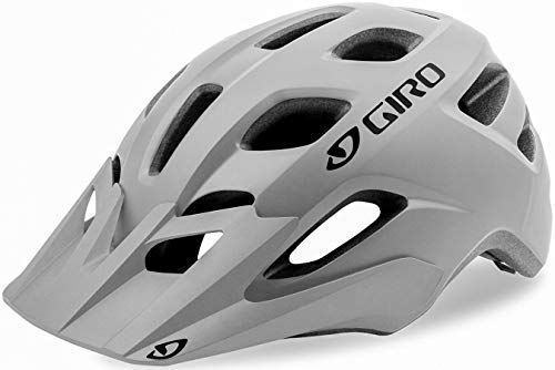 Giro Fixture Casco de Ciclismo, Unisex, Gris Mate, Talla única