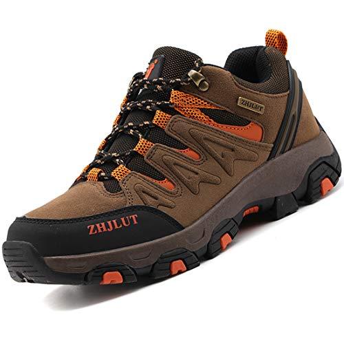 Zapatillas de Trekking para Hombres Zapatillas de Senderismo Botas de Montaña Antideslizantes...*