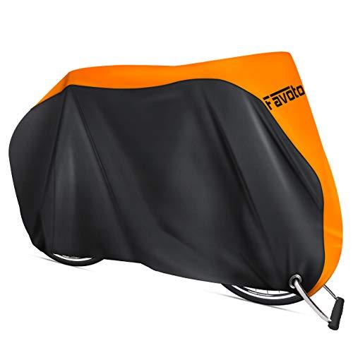Favoto Funda para Bicicleta Exterior, 210D Oxford Cubierta Protector Impermeable al Aire Libre...*
