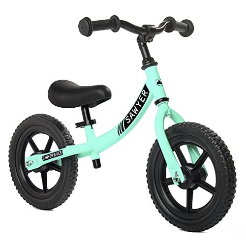 Sawyer - Bicicleta Sin Pedales Ultraligera - Niños 2, 3, 4 y 5 años (Mint)*