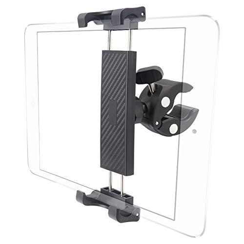 Cuxwill Soporte Tablet Bicicleta, 360° Ajustable Soporte para Cinta Correr Bici Moto, para iPad Pro...*