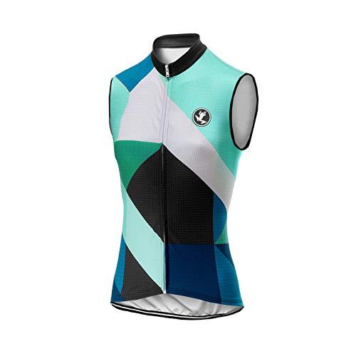 UGLY FROG Mujer Conjunto Chaleco Ciclismo Maillot Ciclista Sin Mangas Camiseta MTB para Verano...*