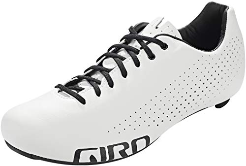 Giro Empire Zapatillas de triatlón para Bicicleta de Carreras, Hombre, Blanco, 43 EU
