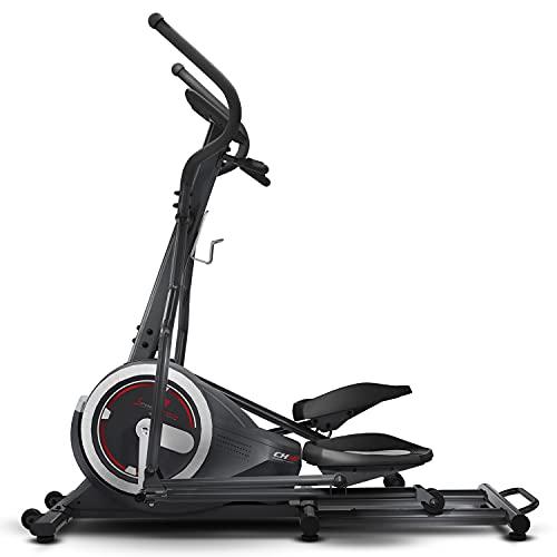 Sportstech Bicicleta Elíptica para Casa   Elíptica con Video Eventos y App Multijugador   24 kg de Masa de Volante   26 programas + HRC   Marca Alemana de Calidad para Equipos de Fitness   CX640