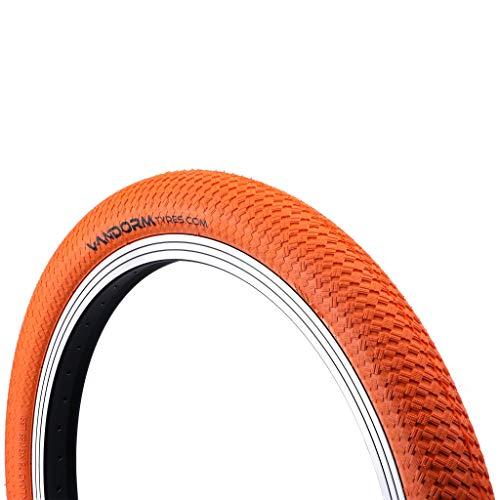 Vandorm - Ruedas de Colores DrifterR2R para Bicicleta BMX, 20 x 2 Pulgadas, Color Naranja, tamaño 20' x 2.00', 500