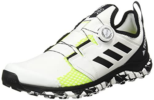adidas Terrex Agravic Boa, Zapatillas de Trail Running Hombre, NONDYE/NEGBÁS/Amasol, 44 EU
