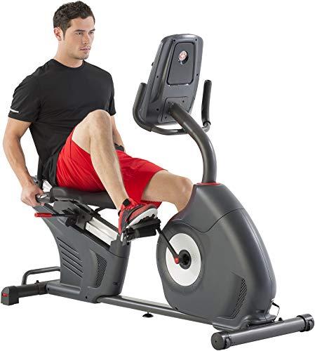 Schwinn 570R, Bicicleta Estática Reclinada, Con Respaldo, Bluetooth, MP3, Aplicaciones Deportivas Para Smartphone, Carreteras 3D Conectadas, 29 Programas, max 136 kg