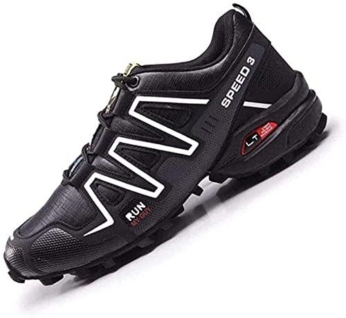 KUXUAN Zapatillas de Ciclismo - Zapatillas de Bicicleta de Montaña,Zapatillas MTB Sin Bloqueo para...*