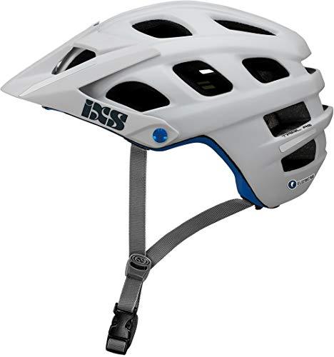 IXS Trail EVO Electric Plus E-Bike Edition Casco montaña, Bicicleta, Unisex Adulto, Blanco, Large