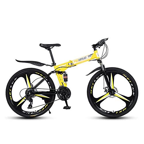 Bicicleta Montaña 26 Pulgadas Bicicleta De Montaña Alta Tensas De Acero Al Carbono 21/24/27...*