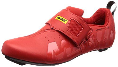 MAVIC Cosmic Elite Tri - Zapatillas - Rojo Talla del Calzado UK 9,5   EU 44 2019