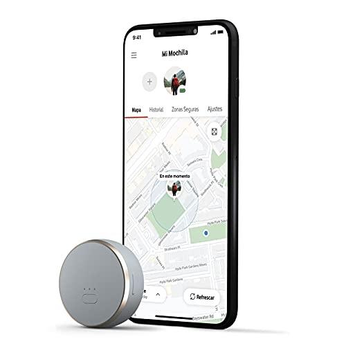 Curve, Mini Localizador GPS Inteligente y Ligero, Rastreador con Seguimiento en Tiempo Real para Localización de Personas, Mascotas o Vehículos