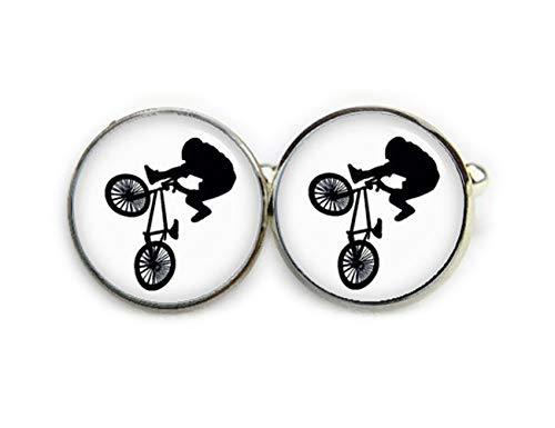 Beautiful Dandelion Gemelos de bicicleta BMX, juegos de BMX, gemelos de boda, gemelos de novio