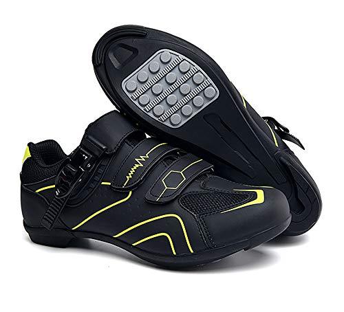tangjiu Zapatillas de Ciclismo Antideslizantes, Zapatillas de Bicicleta de Carretera y Montaña de...*
