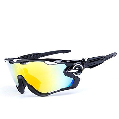 Opel-R Conducción Al Aire Libre Polarizado Deporte Ocio Material Playa Gafas de Sol/Gafas de Gafas C, Contiene Cinco Variedad de Lentes de Decoración , 1Subsection