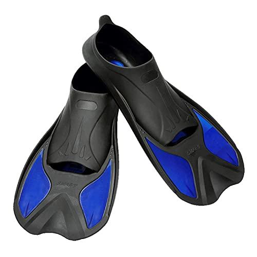 HIXISTO NatacióN Aletas,Aletas De Entrenamiento Aletas de natación seguras Aletas de Snorkeling Scuba Ligero Buceo Pippers Profesional Natación Equipo de Buceo para Adultos Niños