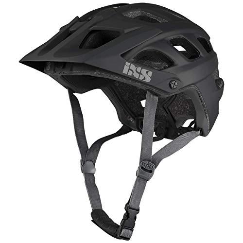 IXS RS EVO Casco para Bicicleta de montaña Trail/All Mountain, Unisex Adulto, Negro, SM (54-58cm