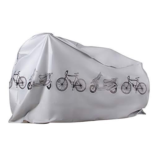EZONTEQ Funda para Bicicleta Impermeable, Funda de Protección Bicicleta Bici Moto Cubierta a...*