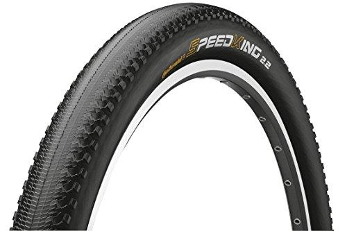 Continental Faltreifen 55-584 Speedking RS Neumáticos para Bicicleta, Unisex Adulto, Negro, Talla...*