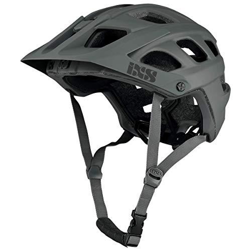 IXS RS EVO - Casco de Bicicleta de montaña para Adulto, Unisex, Grafito, SM (54-58 cm)