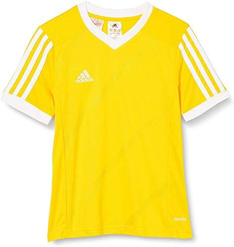 adidas Tabe 14 JSY - Camiseta para hombre, color amarillo / blanco, talla 164