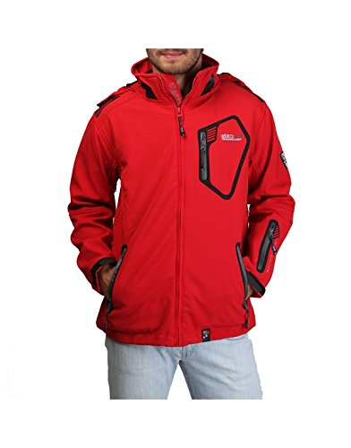 Geographical Norway Tsunami Uomo Giacche Men Rosso S*