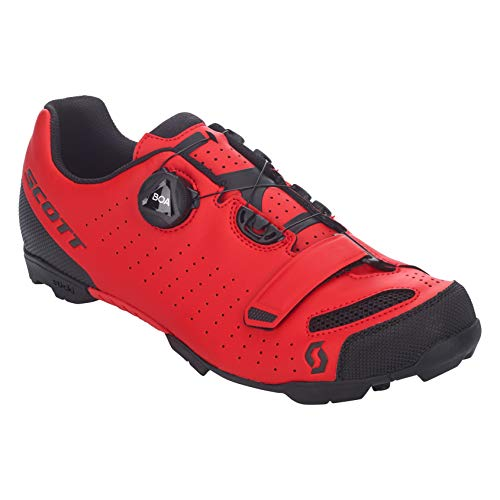 SCOTT MTB Comp Boa Zapatillas de Ciclismo, Hombre, Red/Black, 42*