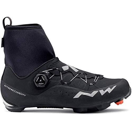 NORTHWAVE Sapatos Btt NW Extreme XCM 2 GTX, Zapatillas Unisex Adulto, Black, 42 EU