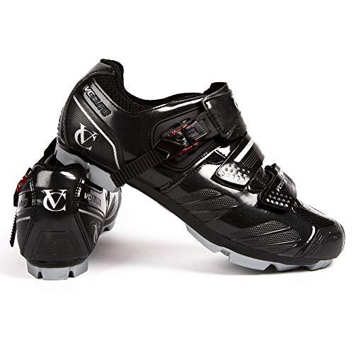 VeloChampion Elite MTB Zapatillas de Ciclismo Unisex para Montaña Ciclocross 45