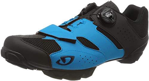 Giro Cylinder MTB, Zapatos de Bicicleta de montaña Hombre, Multicolor (Blue Jewel/Black 000), 39 EU