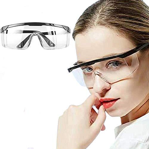 Gafas Protectoras, Lentes de Seguridad Antivaho Prueba de Rayos UV Prueba de Impacto Arena a Prueba...*