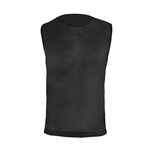 GripGrab Camiseta Interior Ciclismo Sin Mangas de Rejilla 3 Estaciones Primavera Verano Otoño Ropa Técnica Transpirable