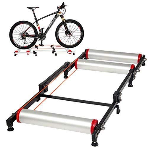 ROCKBROS Rodillo Entrenamiento Bicicleta, Rodillo Rulos para Interiores Ajustable Plegable Universal...*