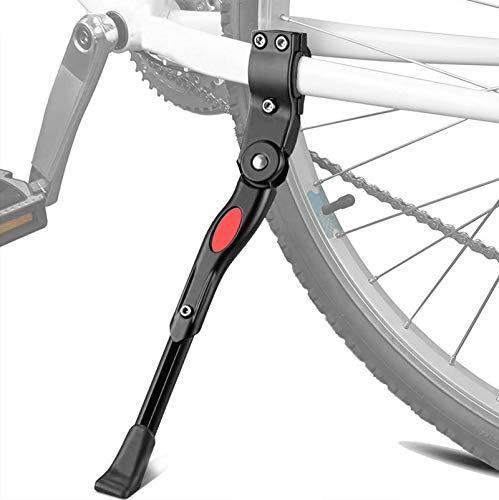 XiDe Pata de Cabra para Bicicleta, Aluminio Soporte Ajustable del Retroceso de Bici Caballete Bicicleta con Llave Hexagonal y Campana de Bicicleta 22'- 28'