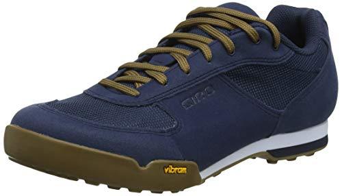 Giro Rumble Vr Mtb Zapatos de Bicicleta de montaña Hombre, Multicolor (Dress Blue/Gum 000), 41 EU (7 UK)