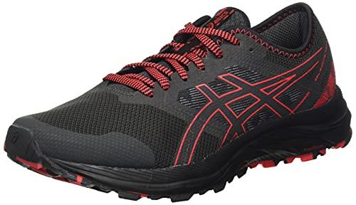 ASICS Gel-Excite Trail, Zapatillas para Correr Hombre, Grafito Grey Electric Red, 44.5 EU