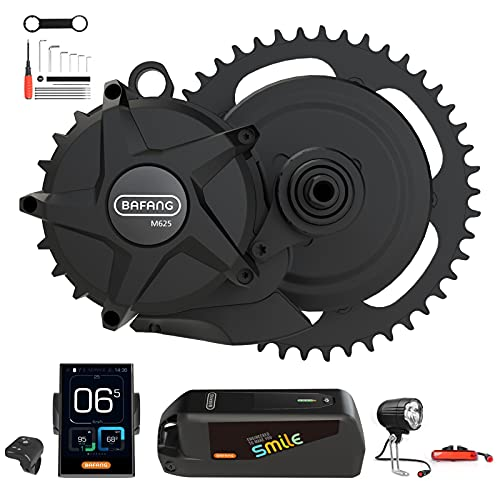 BAFANG 50.4V 1000W eBike Mid Drive Motor Conversion Kit with Battery, Charger, and Display, M625...*